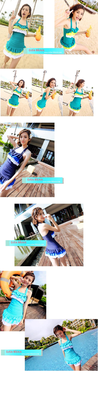 CB24001 1 CB30035 ชุดว่ายน้ำวันพีช หวานน่ารัก (พร้อมส่ง)